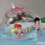 Com fer un iglú de gel per jugar a casa