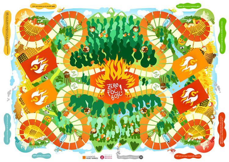 El Joc de la Prevenció d'Incendis Forestals, Zero Foc Bosc