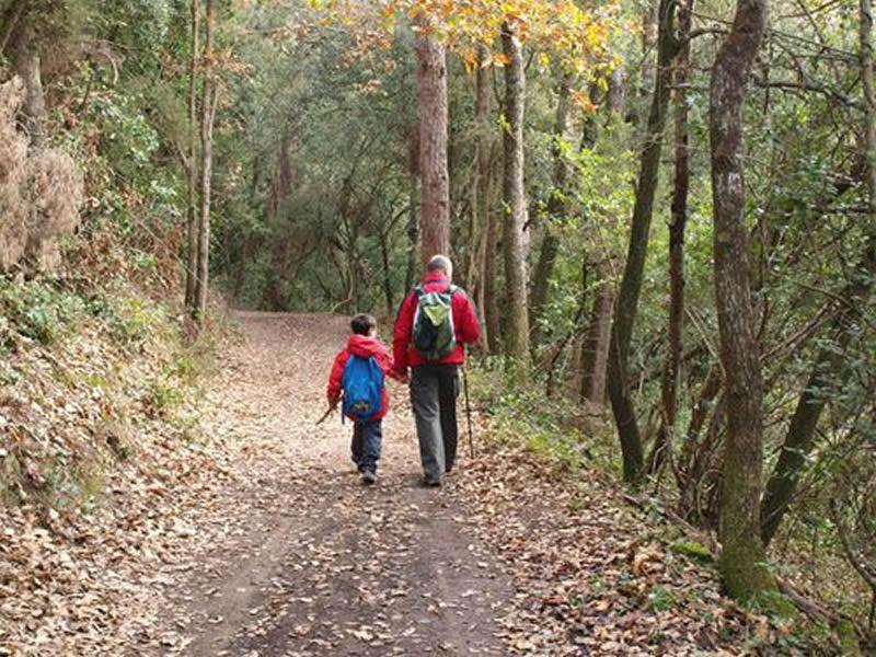 Excursió a la Plana del Corredor amb nens