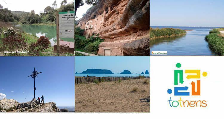 Excursions pels Parcs Naturals de Catalunya amb nens