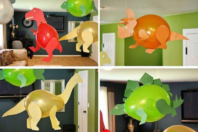 Idees per a una festa infantil de dinosaures