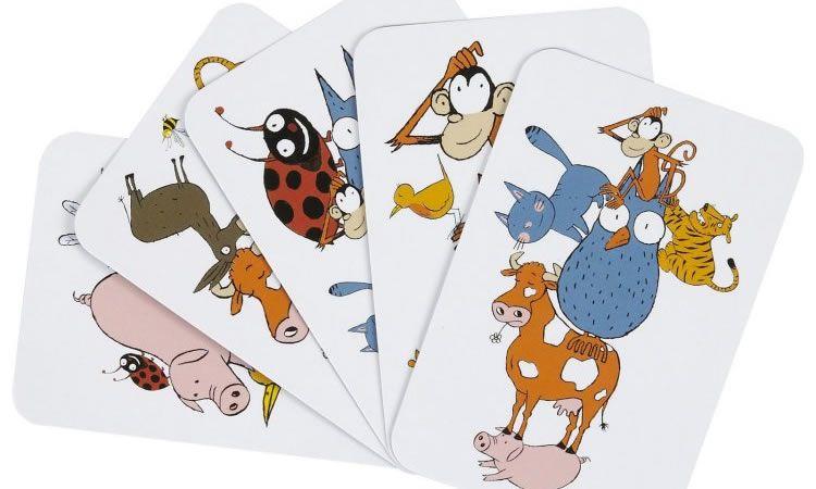 Jocs de cartes per a nens per jugar i aprendre