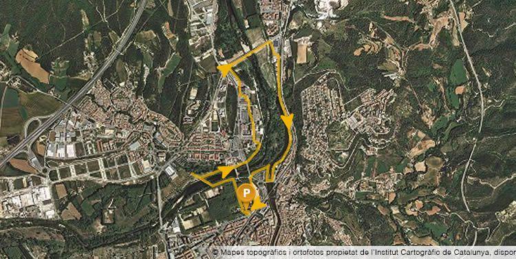 Les riberes del Ter a Girona amb nens