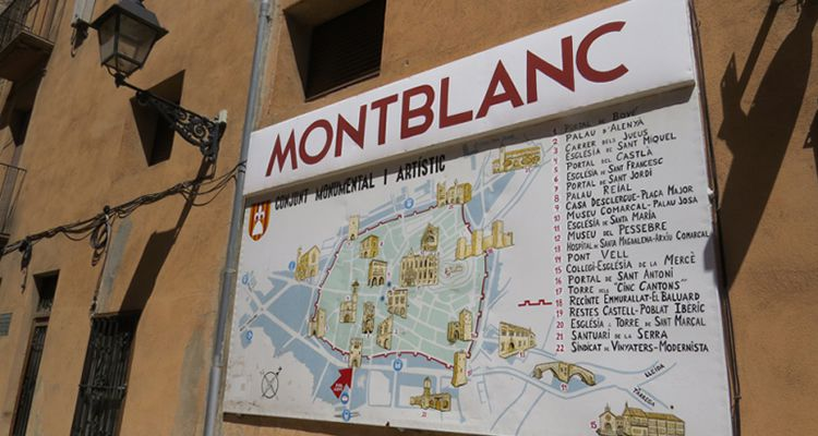 Montblanc medieval amb nens