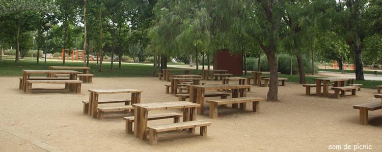 Parc de Can Zam a Santa Coloma de Gramenet