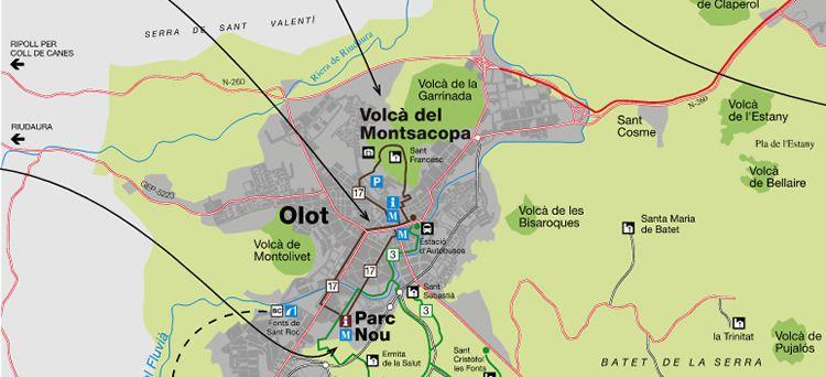 Volcà Montsacopa d'Olot
