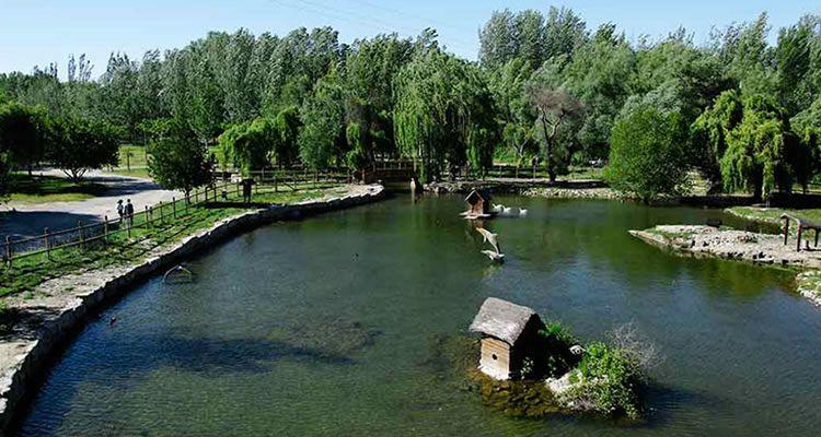 Parc del riu a Corbins