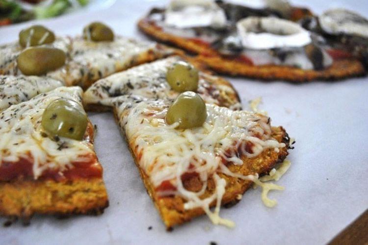 Receptes pizza per a nens sense gluten