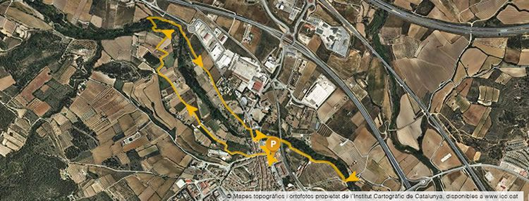 Riu Francolí a Montblanc, un passeig per fer amb nens