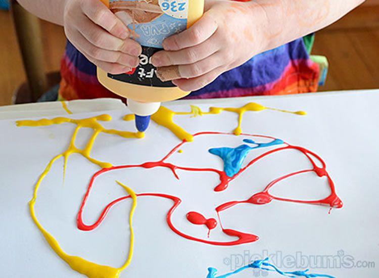 Tècniques per pintar amb nens