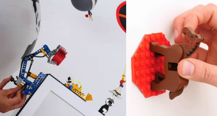 Cinta adhesiva Lego per jugar on vulguis