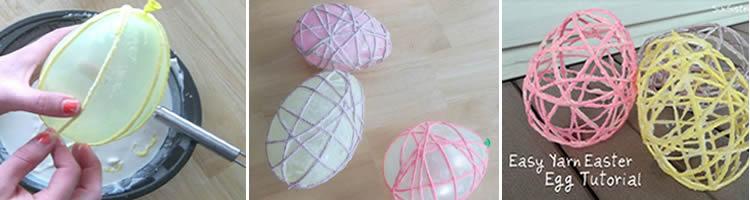 Manualitats infantils de Pasqua amb llanes