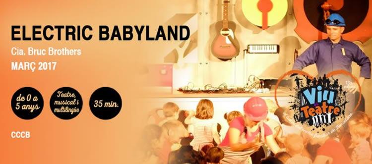 Electric Baby Land, espectacle interactiu per a nens de 0 a 5 anys