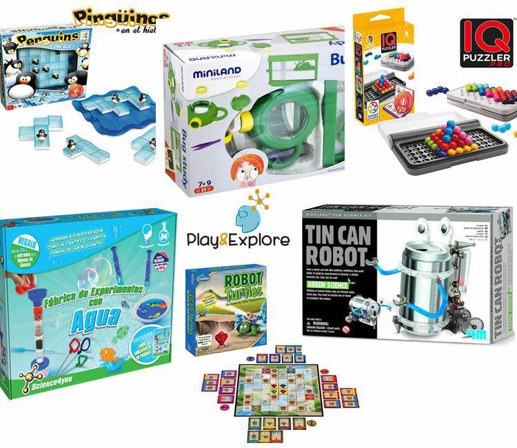 Les joguines per pensar, experimentar i inventar de Play&Explore