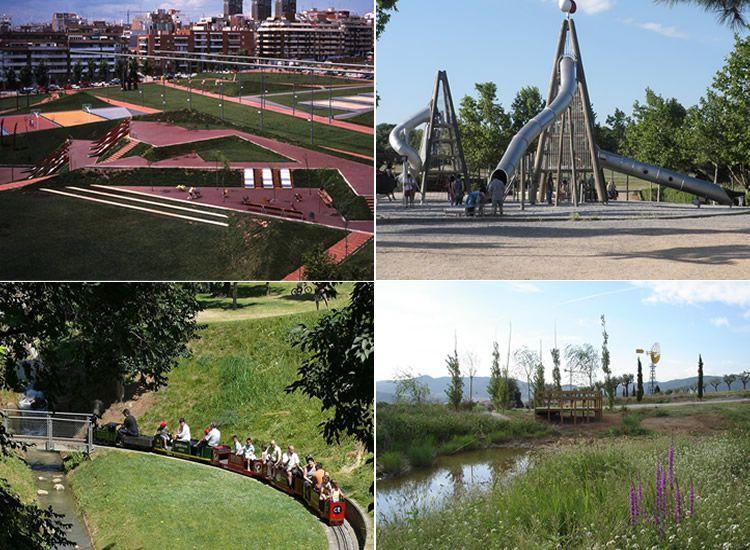 Parcs i jardins per anar amb nens