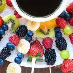 Receptes de fruita amb xocolata per fer amb als nens