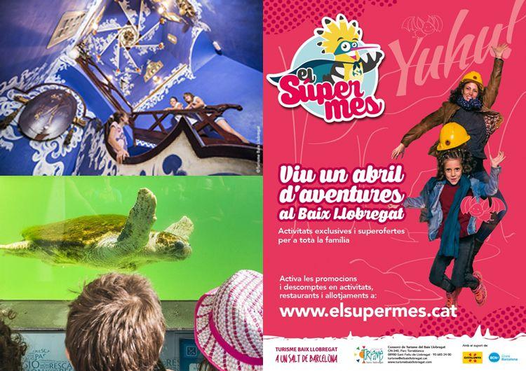 SuperMes del Baix Llobregat. Turisme familiar