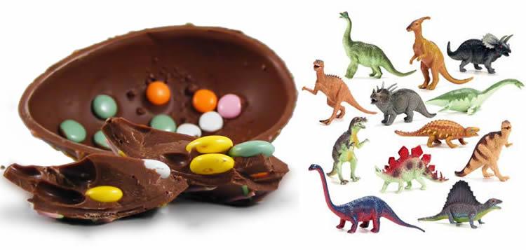 Com fer ous de dinosaure amb els nens