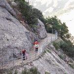 Del Monestir de Montserrat a Sant Jeroni amb nens