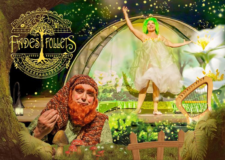 Fades i Follets omple de fantasia el Teatre Poliorama