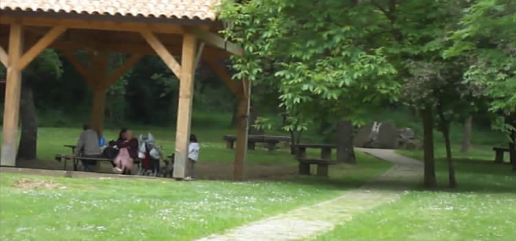 Gorg de la Plana al riu Brugent - Les Planes d'Hostoles