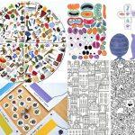 Imprimibles gratuïts per jugar i pintar