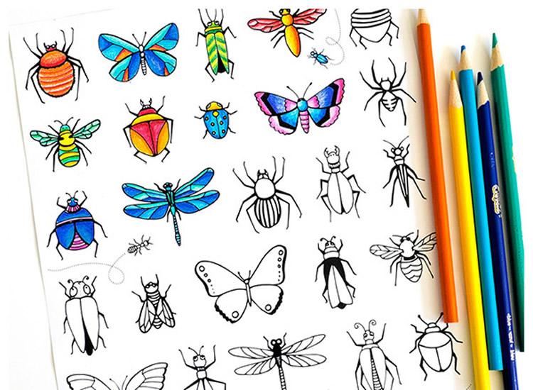 Imprimibles gratuïts per jugar i pintar. Imprimir, retallar i jugar