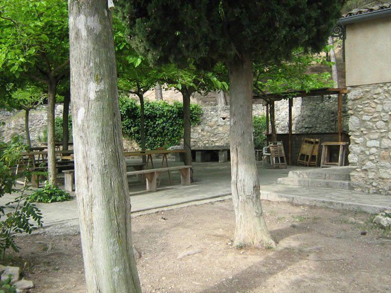 Àrea de lleure de l'ermita de Sant Josep a Montblanc