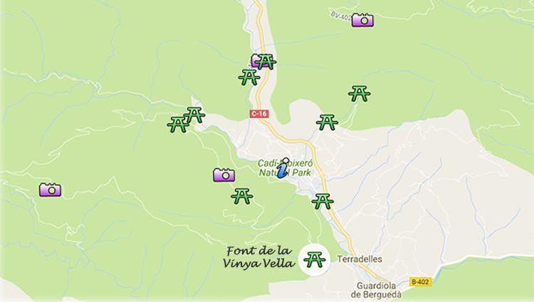 Font de la Vinya Vella a Bagà