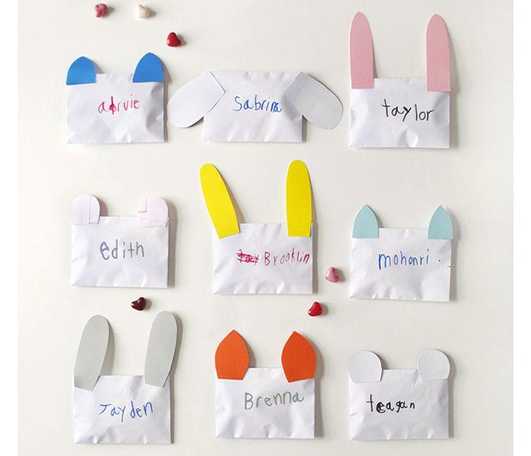 Invitacions festes infantils amb sobres d'animals