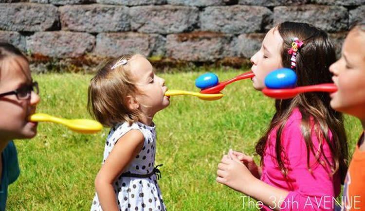 Jocs per a gimcanes per a una festa infantil