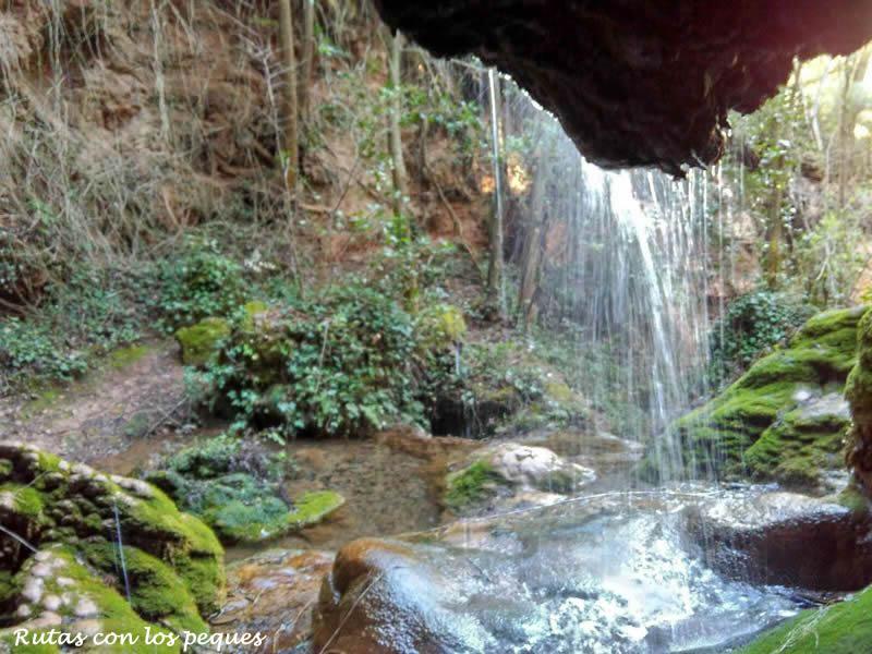 La Cascada de la Vall a Montblanc