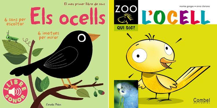 Llibres d'ocells per a nens