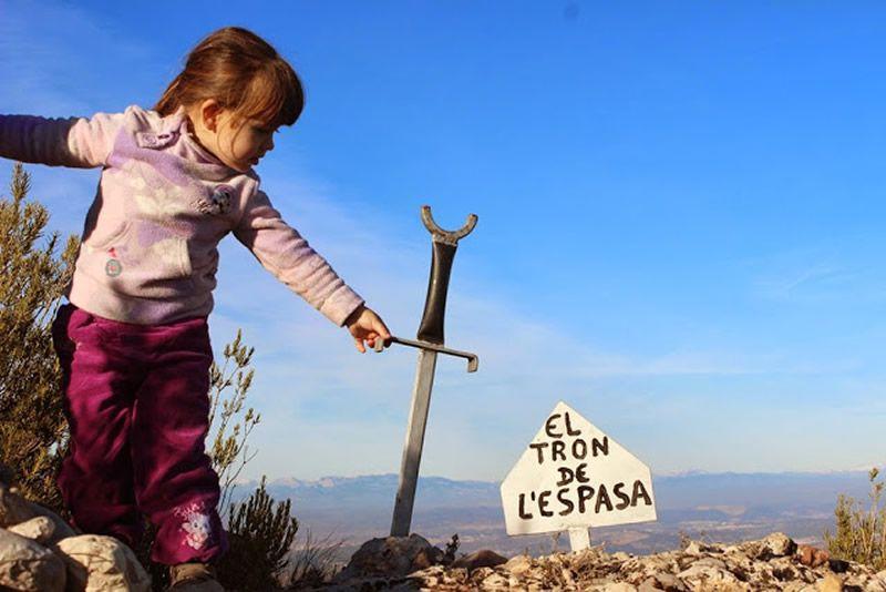 Tron de l'Espasa a la Muntanya de Montserrat