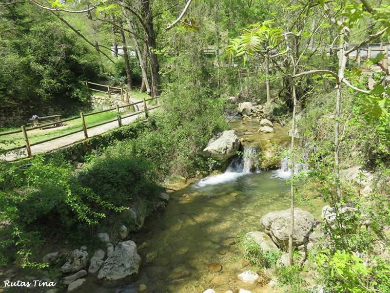 Àrea de lleure de la Font Negra a Berga