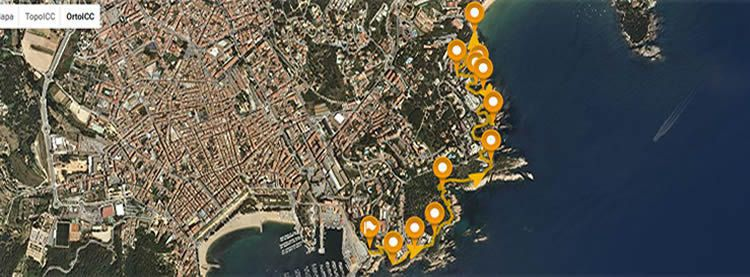Camí de Ronda a Sant Feliu de Guíxols fins la platja de Sant Pol