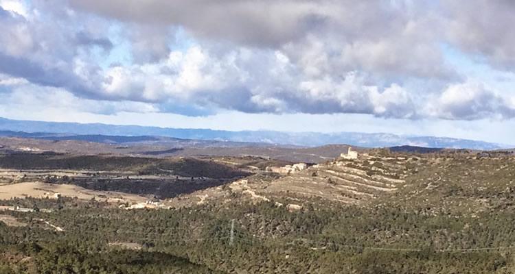 Castell de Boixadors a l'Alta Anoia