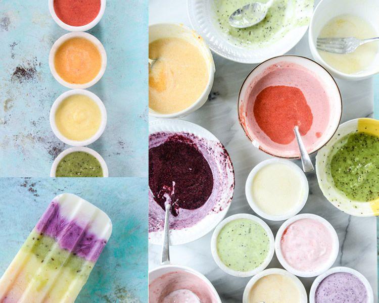 Gelat de iogurt i fruites naturals