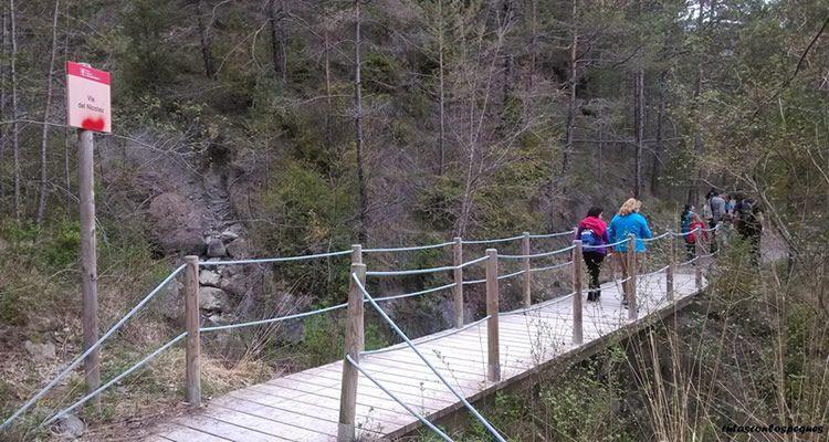 La Via del Nicolau a l'Alt Berguedà