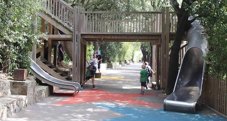 Camí del Cel al Parc d'Atraccions del Tibidabo
