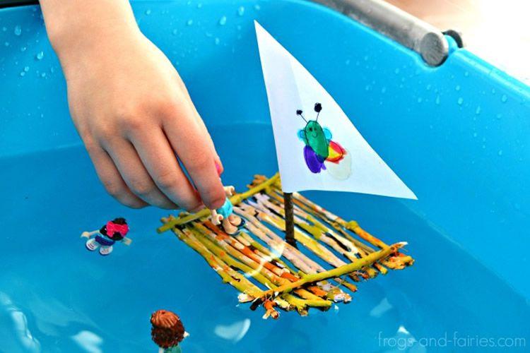Com fer un vaixell que suri per jugar