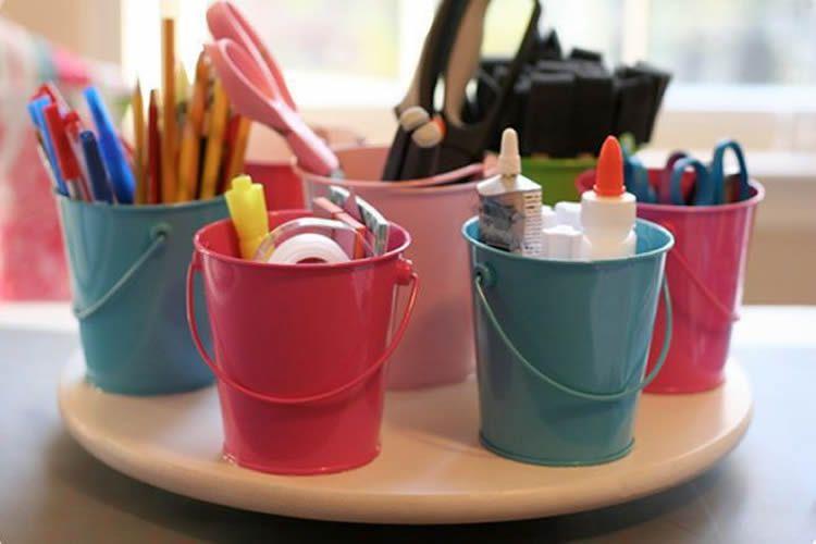 Com organitzar el material d'arts plàstiques a casa