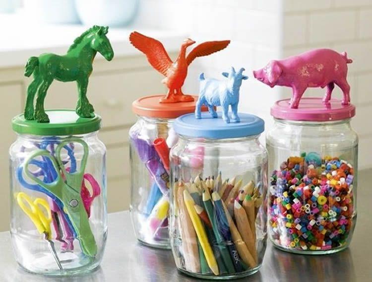 Com organitzar el material per plàstica