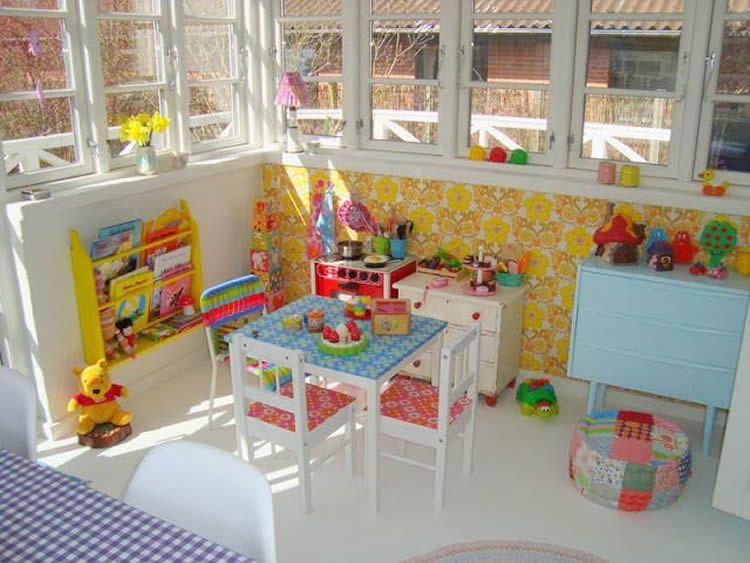 Habitacions infantils per jugar. Mobiliari i complements