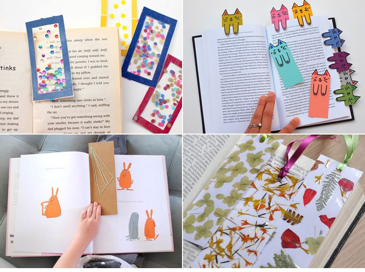 Punts de llibres per fer amb els nens
