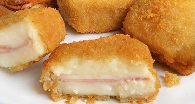 Receptes amb pernil i formatge per fer amb nens