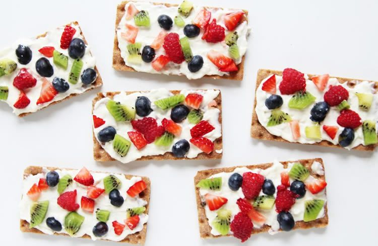 Receptes de pizza de fruites per fer amb nens