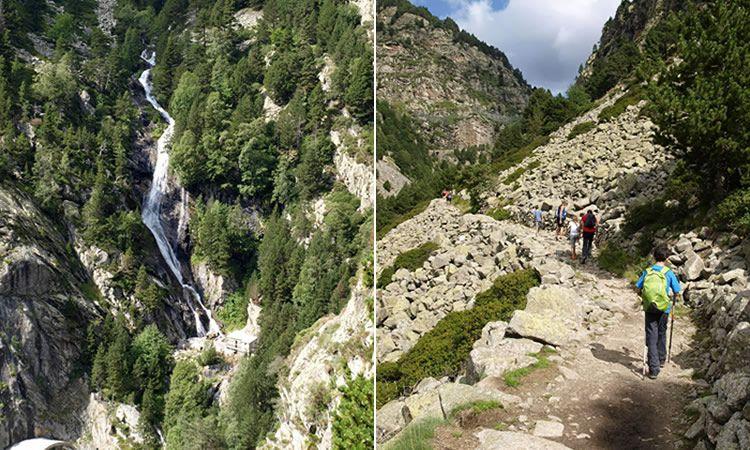 Ruta de Queralbs a Núria pel camí vell GR-11