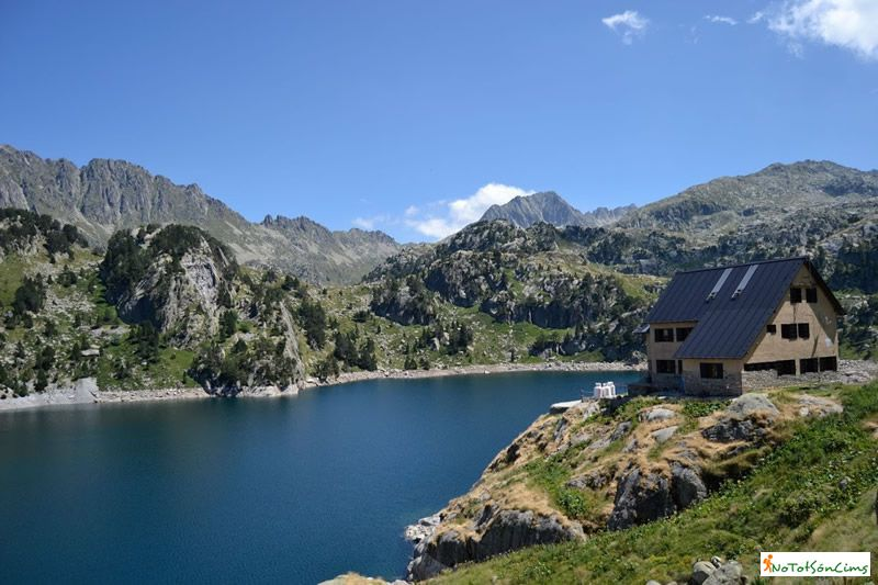Ruta dels llacs del Circ de Colomèrs a la Val d'Aran