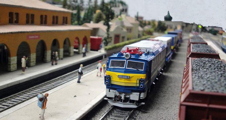 Circuit de trens a Cal Gavatx